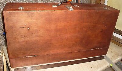 Vintage Carpenters/Joiners Wooden Toolbox