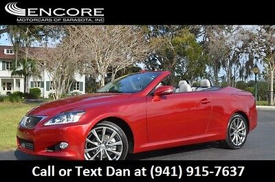 2015 Lexus IS 2dr Convertible W/Luxury Package and Navigation 2015 IS250 Convertible W/Luxury Package & Navigation Premium 8K Miles LIKE NEW!