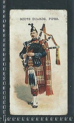 Churchman's Types Of British & Colonial Troops Scots Guards Piper