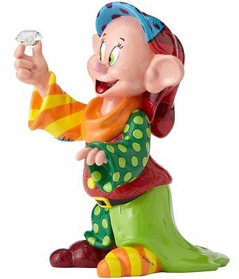 Romero Britto Disney Dopey Snow White 80th Anniversary Pop Art Figurine 4055687