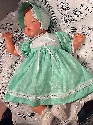 "Doll Clothes for 19""/20"" Large Thumbelina ""Mint Green Dress Set"" by Maureen"
