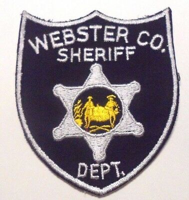 Old Webster County West Virginia Sheriff Patch Unused