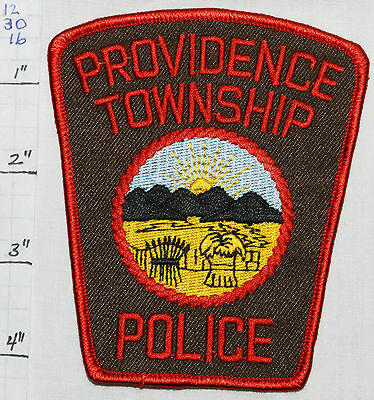Ohio, Providence Township Police Dept Patch