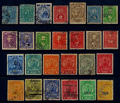 PARAQUAY  OLD  MINT  AND  USED  COLLECTION   L122b
