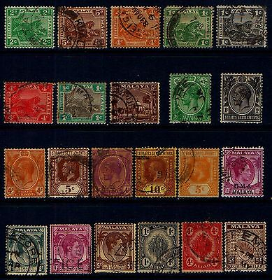 MALAYA  OLD  STATES  COLLECTION  L120c