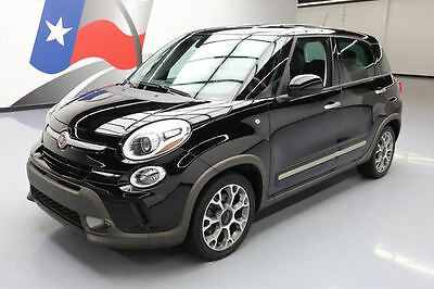 2014 Fiat 500 Trekking Hatchback 4-Door 2014 FIAT 500L TREKKING TURBO 6-SPD NAV REAR CAM 55K MI #007863 Texas Direct