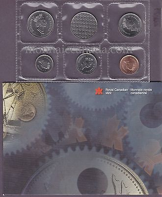 1999 P - Plated Test Coin Set - Original RCM Mint - PL set - Proof Like - B234