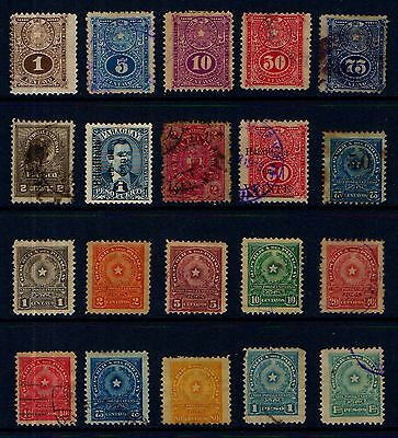 PARAQUAY  OLD  MINT  AND  USED  COLLECTION   L114c
