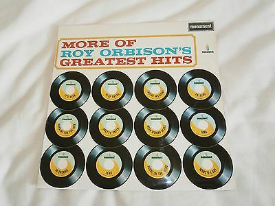 Roy Orbison More Of Roy Orbisons Greatest Hits Lp