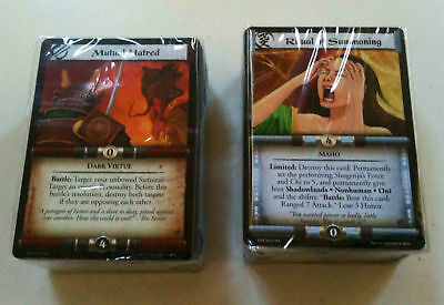 L5R Legend Five Rings  Emerald Jade Champions Death at Koten cards only RJC DaK