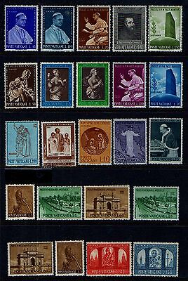 VATICAN  OLD  MINT  & USED  COLLECTION   L111a