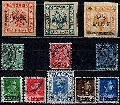 ALBANIA  OLD  COLLECTION  L104a