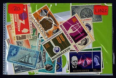 BARBADOS  OLD  MINT  COLLECTION   3 SCANS  L102c