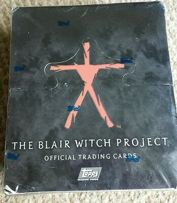 The Blair Witch Project Official Trading Cards (Topps) Factory Sealed