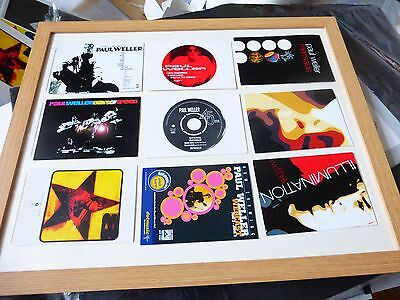 paul weller the jam 11 record company promotional  postcards style council