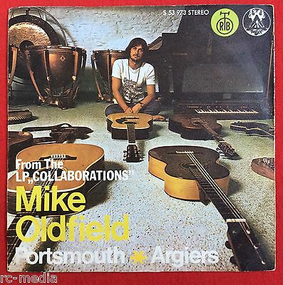 """MIKE OLDFIELD - Portsmouth - Very Rare Yugoslavian 7"""" with unique Picture Sleeve"""