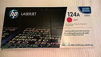 HP Laserjet 124A Magenta Printer Cartridge Q6003A