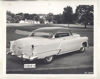 1953 Oldsmobile 88 Holiday Hardtop Coupe ORIGINAL Factory Photograph ww6522