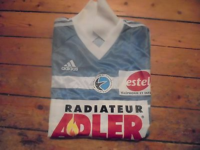 Racing Club Strasbourg 1990s Football Top L  RARE
