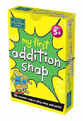 My First Addition Snap & Pairs Card Games for Children - Age 5+ g26