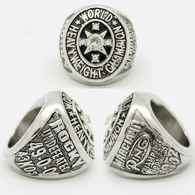 1952 Rocky Marciano World Heavy Weight Boxing Championship Replica Ring