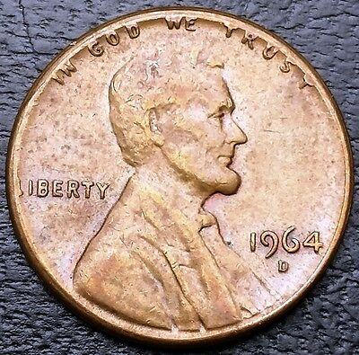 1964-D Lincoln Memorial Cent ***Struck on Type I Planchet Error Coin***