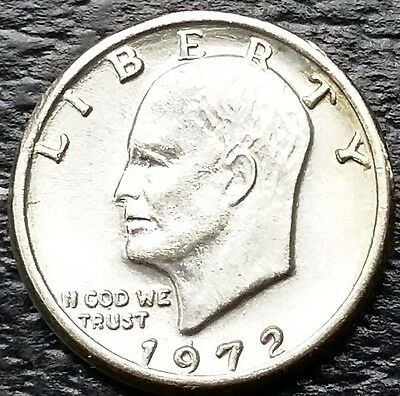 Vintage Novelty Miniature 1972 Eisenhower Dollar $1 Coin - Free Combined S/H
