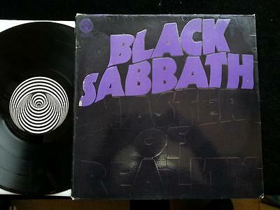 BLACK SABBATH Master Of Reality  LP UK 1st  Vertigo Swirl 6360-050 1971 EX+