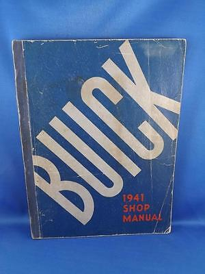 Buick Shop Manual 1941 Car Truck Repair Maintenance General Motors