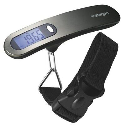 Spigen E500 Luggage Scale Digital Output-110 lb Capacity-Tare Function-Backlight