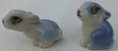 Vintage WADE Second Issue RABBIT FAMILY BABIES