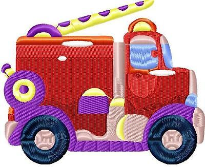 Boys Toys 10 Machine Embroidery Designs 2 Sizes Cd