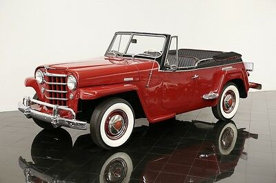 1950 Willys Jeepster Open Top 1950 Willys-Overland Jeepster
