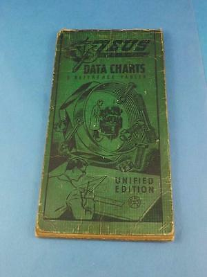 Zeus Data Charts & Reference Tables Unified Edition Vintage