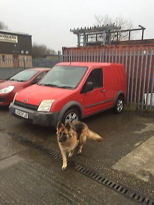 transit connect 2003 diesel spares or repair please read first