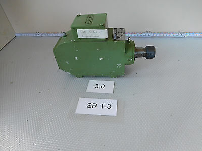Perske Vs30.06-2, Milling Spindle Revolution 17300 1/Minimum 0,3 Kw, Collet