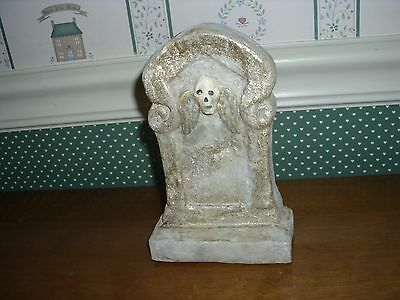 """Bethany Lowe-Halloween-  Glittered Tombstone-A-As Shown-6""""h"""