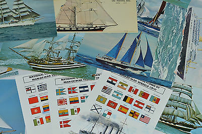 Shipping Ocean Linner Cruise  Boat Postcards Job Lot After