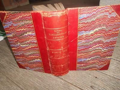 1894 Victoria Parliamentary debates tax Politics transport law politics railway
