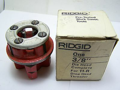 "New Old Stock Ridgid 3/8"" Die Head Drop Head Threader For 11-R"