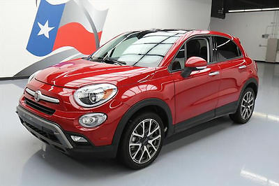 2016 Fiat 500  2016 FIAT 500X TREKKING PLUS DUAL SUNROOF NAV HTD SEATS #411718 Texas Direct