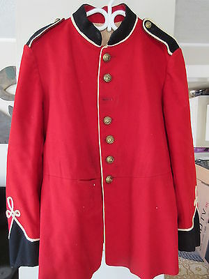 Old Vintage 1973 Princess Louise Fusiliers Red Uniform Jacket