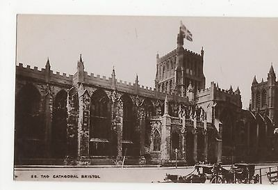Bristol, The Cathedral Chatterton RP Postcard A625
