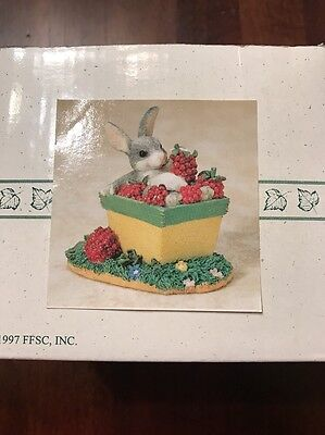 Charming Tails Fitz & Floyd The Berry Best Item 87/391