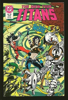 DC The New Teen Titans Twister Dec 1986 No 26