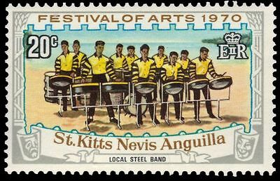 """ST. KITTS-NEVIS 227 (SG226) - Arts Festival """"Local Street Band"""" (pa61119)"""