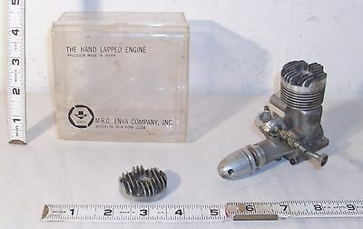 Enya 29 Gas Airplane Engine With Extra Head & Case