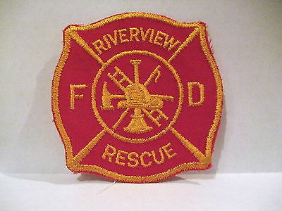 fire patch  RIVERVIEW FIRE DEPT RESCUE CANADA