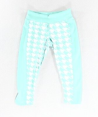Gracie By Soybu NEW Blue Girl's Size Small 6-7 Houndstooth Pants $38 #176