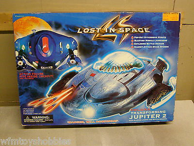 Lost In Space Movie Transforming Jupiter 2 Electronic Lights And Sounds Sealed
